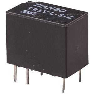 Signalrelais TR5V-M 12V, 1 Wechsler 2A TIANBO TR5V-M-12VDC-S-Z