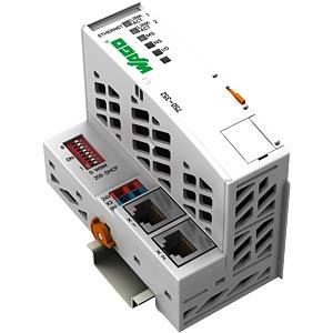 ETHERNET TCP/IP fieldbus coupler, 10/100 Mbit/s WAGO 750-352