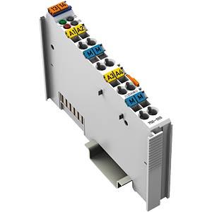4-Kanal-Analog Ausgangsklemme 4-20 mA I/O WAGO 750-555