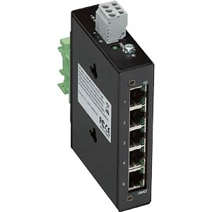 5 Port 100BASE-TX Industrial Eco Switch WAGO 852-111