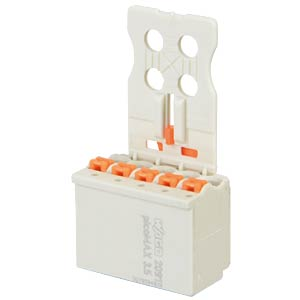 picoMAX 3.5 female multi-point connector, 5-pin WAGO 2091-1105/002-000