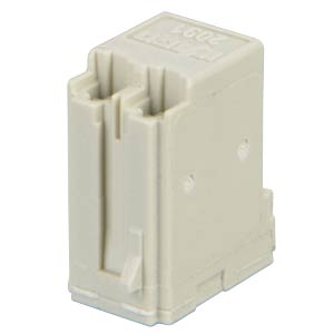picoMAX 3.5 female multi-point connector with solder pins, 2-pin WAGO 2091-1322