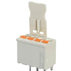 picoMAX eCOM Federleiste, gerade, 5,0 mm, 4-polig WAGO 2092-1154