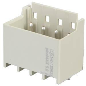 picoMAX 5.0 pin header, straight, 4-pin WAGO 2092-1404