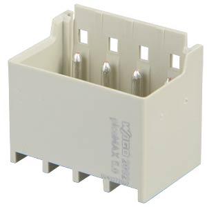 picoMAX 5.0 Stiftleiste gewinkelt 4-polig WAGO 2092-1424