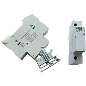 Photovoltaic fuse holder 1-pin, 900V ESKA 1038001