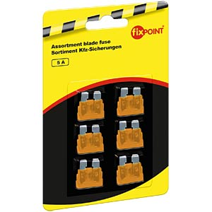 Standard automotive fuses, 6-pack, 5 A FREI