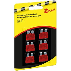 Standard automotive fuses, 6-pack, 10 A FREI