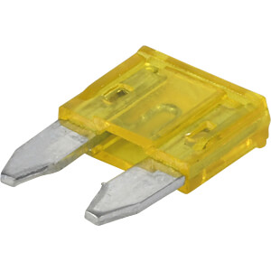 FKS flat fuse (mini), 20 A, yellow FREI