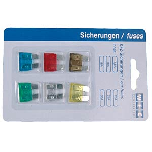 FK1-SICH-1 - FK1-Autosicherungs-Sortiment (Mini-flach)