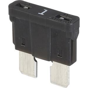 KFZ-Sicherung, ATO, 1 A, schwarz LITTELFUSE 0287001.PXCN