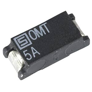 1.5 A SMD fuse, OMT-250, time-lag SCHURTER 3403.0130.11.BF