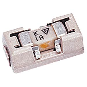 SMD fuse with holder, super-fast action, 1.0 A FREI