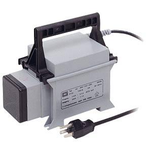 Ballast autotransformer, 500 VA, 110V to 230V BLOCK TRANSFORMATOREN JET 500
