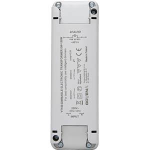 ElektronischerTrafo ohne Mindestlast 0 - 150 W KOPP 202515098