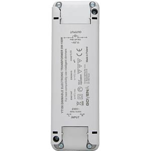 Halogen-/LED-Trafo, elektronisch, 0 - 150 W KOPP 202515098