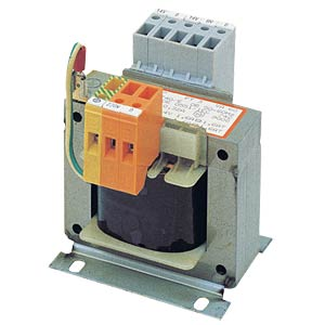 Safety transformer, 0 - 12 V - 24 V, 2 A and 0 - 6 V, 2 A BLOCK TRANSFORMATOREN PT 1-PRÜFUNG