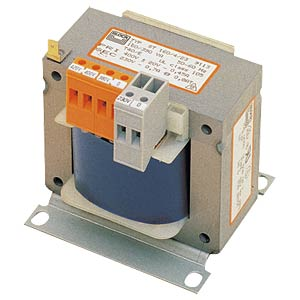 Control transformer, 100 VA, Prim. 230/400V, sec. 2x 12 V BLOCK TRANSFORMATOREN STEU 100/24