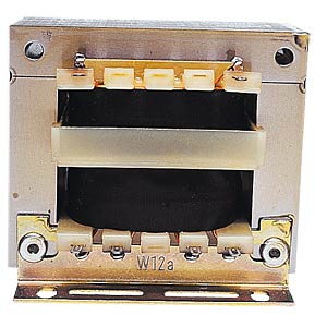 Mains transformer, open design, 12 VA, 2x12 V BLOCK TRANSFORMATOREN EL 13/12