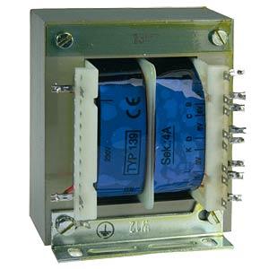 Universal transformer, 4 A, 1x 3 - 30 V, 2x 3 - 15 V BLOCK TRANSFORMATOREN TE 139