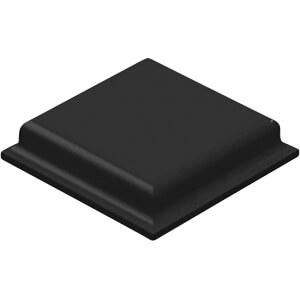 Gummifüsse, 10,4 x 10,4 x 2,5 mm, schwarz, 54er-Pack 3M ELEKTRO PRODUKTE SJ5007S