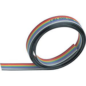 Flachbandkabel, 40 pol, 30 m, mehrfarbig 3M ELEKTRO PRODUKTE 3302/40
