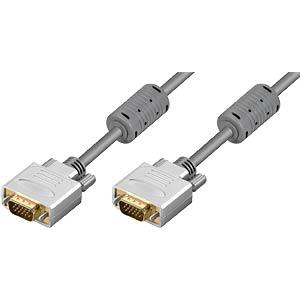 VGA Monitor Kabel 15-pol VGA Stecker, 3 m FREI