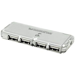 USB2 hub (4 ports), without power supply MANHATTAN 160599