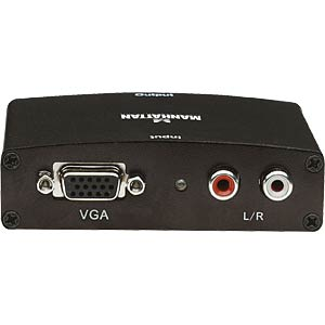 VGA to HDMI converter, incl. audio feed MANHATTAN 177351