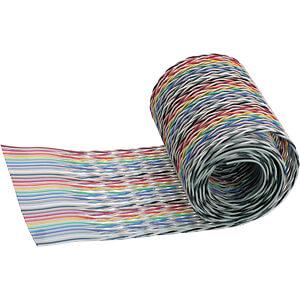 Flachbandkabel, 14 pol, 30 m, mehrfarbig 3M ELEKTRO PRODUKTE 1700-14