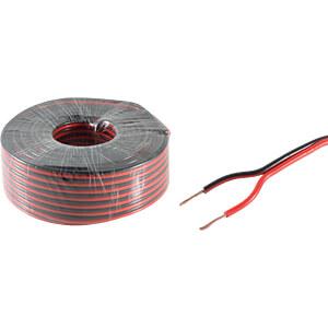 SHVP BS06-15075 - Lautsprecherkabel 0,75mm²  CCA rt/sw 10m