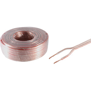 SHVP BS06-150711 - Lautsprecherkabel 0,75 mm²  CCA tr 10 m