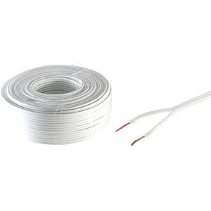 SHVP BS06-15076 - Lautsprecherkabel 0,75 mm² CCA ws 10 m