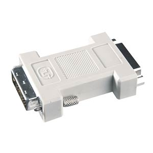 DVI 24+5 female to 24+5 female adapter FREI