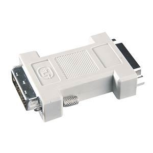 DVI-Adapter, DVI 24+5 Buchse auf 24+5 Buchse VALUELINE VC-008