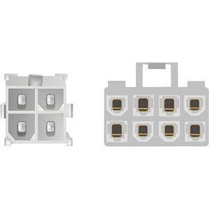 4-pin ATX/P4 > 8-pin EPS mainboard power adapter FREI