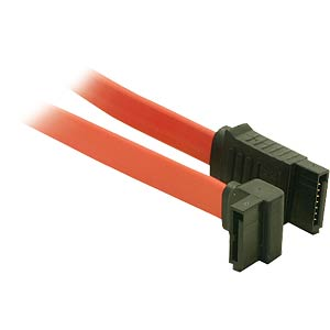 Serial ATA cable, 30 cm, angled FREI