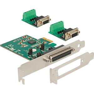 Delock PCIe x1 Seriell 2x RS-422/485 DB9 ESD DELOCK 65841