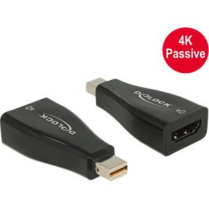 Delock Adapter mini DisplayPort 1.2 Stecker > HDMI Buchse 4K DELOCK 65864