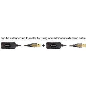 USB 2.0 Kabel, A Stecker auf A Buchse, 15 m DELOCK 82689