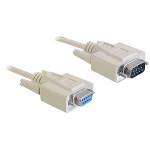 Kabel Seriell, SUB-D 9, Stecker/Buchse, 10m DELOCK 82979