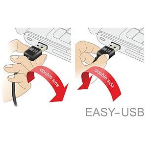 Cable EASY USB 2.0-A l/r > Mini USB 5 Pin 3 m DELOCK 83380