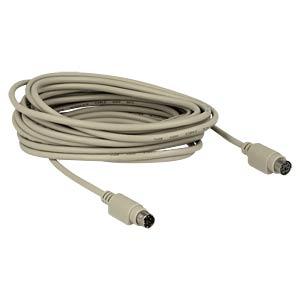 Kabel PS/2 Stecker auf Buchse, 5 m DELOCK 84072