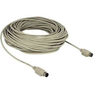Cable PS/2 plug > jack 30 m DELOCK 84706
