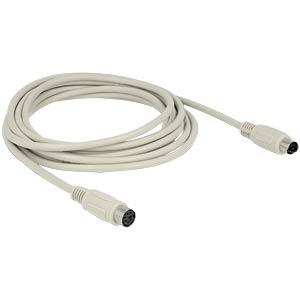 Cable PS/2 plug > jack 3 m DELOCK 84725