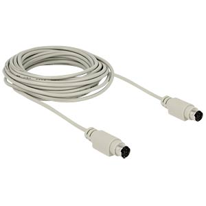 Kabel PS/2 Stecker > Stecker 5,0 m DELOCK 84727