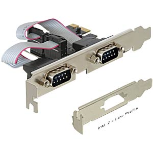 PCI Express card 2 x serial DELOCK 89220