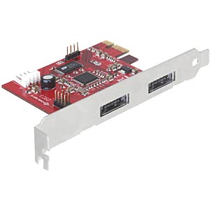 PCI Express Card > 2x Power Over eSATA 5V/12V DELOCK 89233