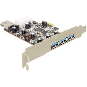Delock PCI Express Card >3x ext.-1x int. USB 3.0 DELOCK 89281