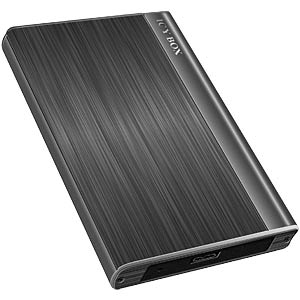 "EXT. Housing 6.4 cm (2.5"") USB 3.0 / rubber pad ICYBOX 20230"